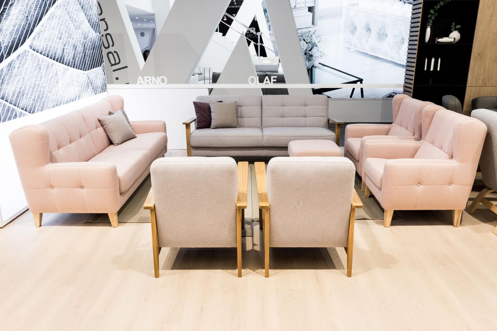 Zestaw wypoczynkowy Arno firmy Gala Collezione (marka Sweet Sit). Fot. Gala Collezione