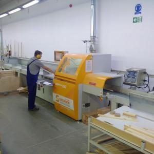 W związku z rozwojem Feniks zdecydował się na zakup większego model optymalizerki Salvador. Dotychczasowy Superpush 200 jest dostępny w ofercie maszyn używanych firmy Teknika. Fot. IM