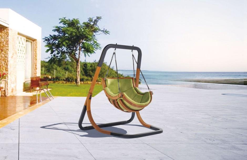 Fotel Alpha firmy 4IQ. Poza swoimi walorami estetycznymi spełnia funkcję wypoczynkową. Fot. 4IQ