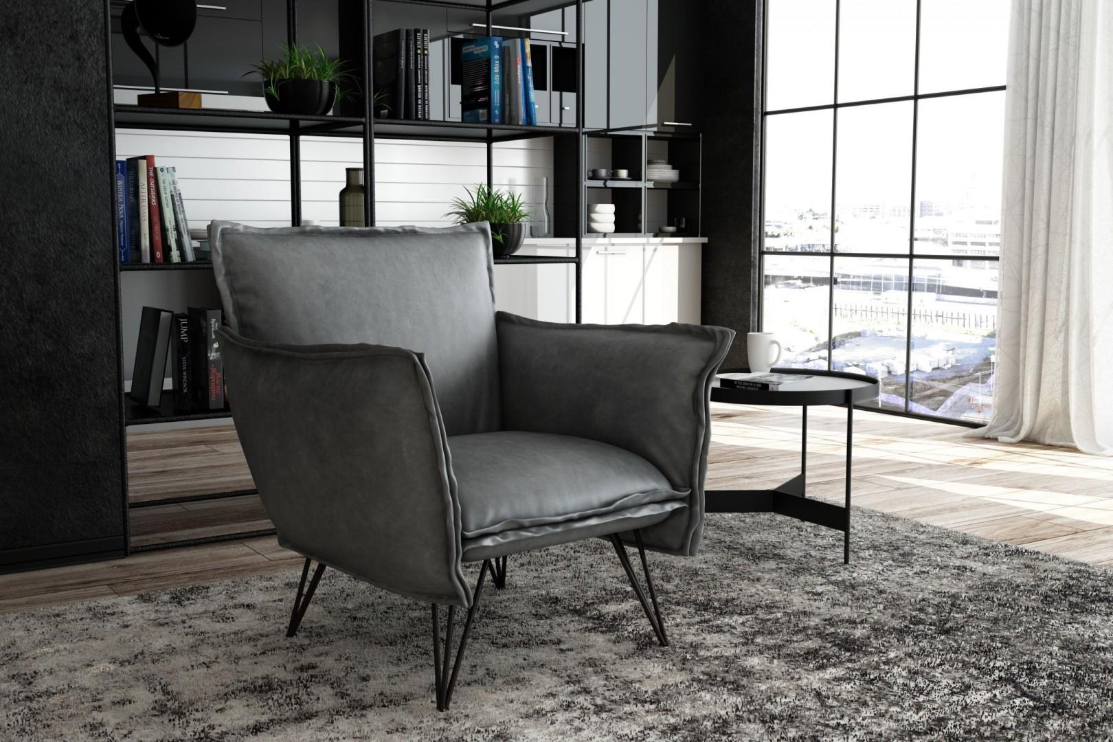 Fotel Hugo marki Adriana Furniture. Fot. Adriana Furniture