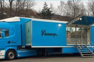 Mobilny showroom firmy Kinnarps rusza w trasę