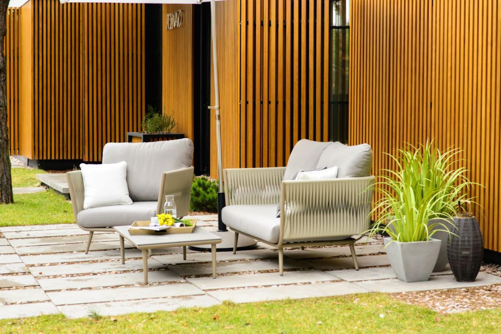 Kolekcja mebli ogrodowych Aja firmy Miloo. Fot. Miloo