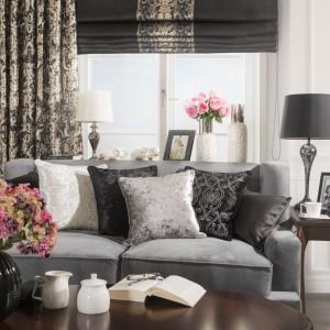 Jednym ze sposobów na odmianę – bez konieczności zakupu nowej kanapy - jest wymiana tapicerki. Fot. Eurofirany