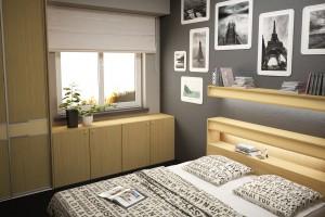Jak dobrze wykorzystać przestrzeń w małej sypialni?