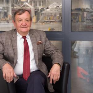 Henryk Owsiejew, prezes Rady Nadzorczej firmy Malow. Fot. Malow
