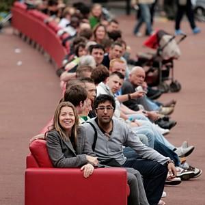 Firma BoConcept wyprodukowała najdłuższą sofę świata, która objechała niemal całą Europę.