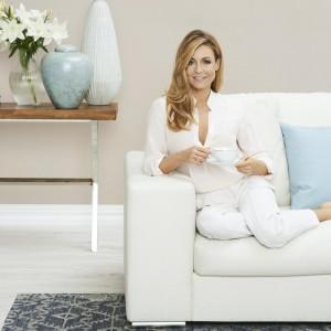 Małgorzata Rozenek - ambasadorka tkanin Magic Home z oferty Fargotex
