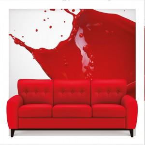 Plakat reklamujący konkurs Tekstyliada firmy Lech Modern Fabrics