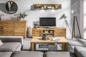 Meble z drewna - jak urządzić przytulny salon?