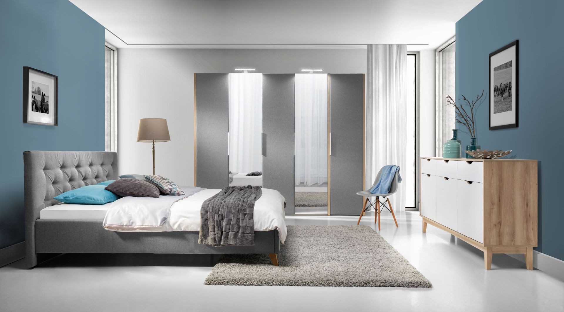 Sypialnia Glame. Fot. Wajnert Meble