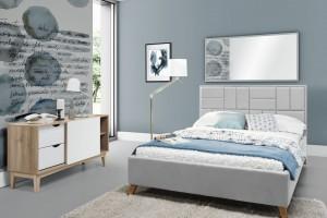 Łóżko z wysokim zagłówkiem - postaw na wygodę w sypialni