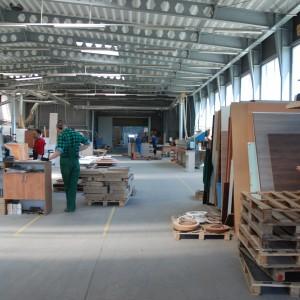 Hala produkcyjna firmy TOBO - producenta mebli biurowych