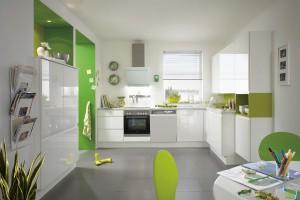 Kolorowa kuchnia. Piękne i nowoczesne meble