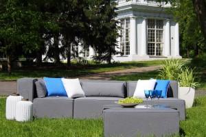Modułowe meble ogrodowe