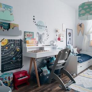 Meble w skandynawskim stylu sprawią, że pokój dziecka będzie prezentował się świeżo. Fot. Pinio