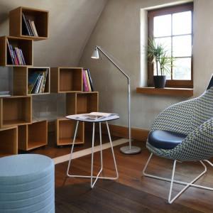 Kolekcja foteli Vieni wyróżnia się zaokrągloną formą oraz designem nawiązującym do stylu pop-art.  Fot. Bejot