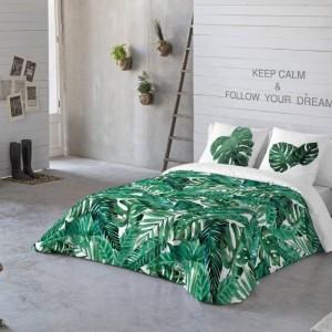 Komplet pościeli Jungle z modnym motywem roślinnym. Fot. Dekoria.pl
