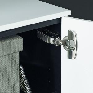 Zintegrowany system cichego domykania zapewnia komfort użytkowania. Fot. Hettich