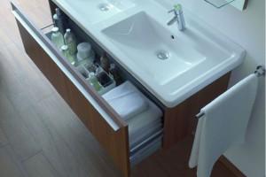 Meble łazienkowe z miejscem do przechowywania