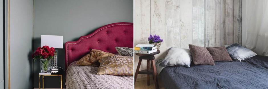 Metamorfoza sypialni przed i po. Fot. Interiors Design Blog