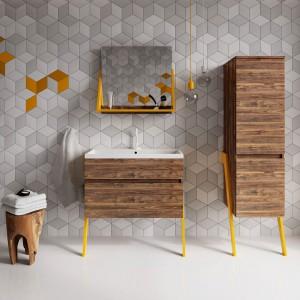 Kolekcja mebli łazienkowych OP-ARTY / projekt: Olga Mężyńska, Milena Wójcik / producent: Deftrans