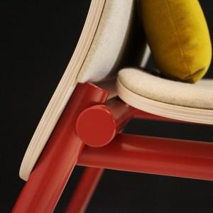 B-1620 - Fotel z kolekcji 1620 / projekt: Bartłomiej Pawlak, Łukasz Stawarski / PAWLAK&STAWARSKI / producent: Fameg