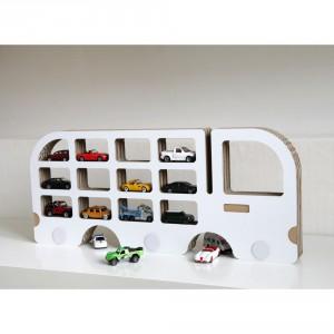 Półka Unlimited Design w kształcie auta to nietypowy mebel. Fot. Bonami.pl
