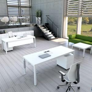 Zieleń w kolorze ścian czy elementów wyposażenia daje wrażenie czystości, przestrzenności. Fot. Everspace