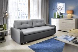 Sofa w salonie. Modele, które sprawdzą się w małym wnętrzu