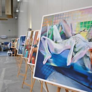 Wystawa obrazów Tadeusza Jędrzejczaka. Fot. Mariusz Golak