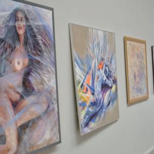 Wystawa obrazów Dariusza Pakoca. Fot. Mariusz Golak