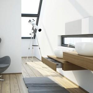 Elegancki minimalizm w łazience – meble marki Noclaf. Fot. Noclaf