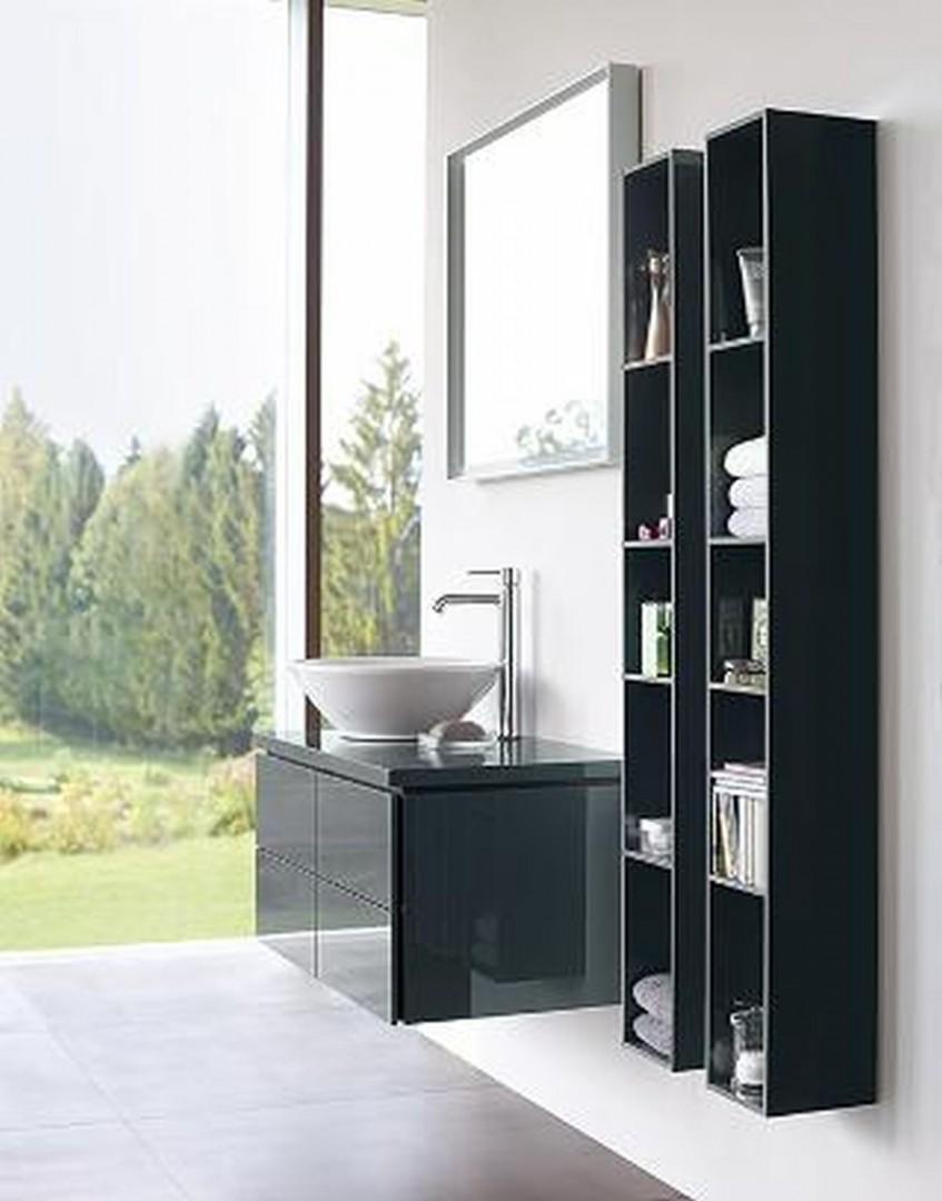 Meble łazienkowe zaprojektowane przez Christiana Wernera dla firmy Duravit. Fot. Duravit