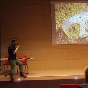 Wykład gościa specjalnego dr. hab. Jana Sikory. Fot. SDR