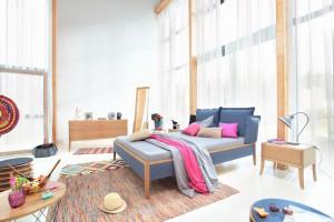 Pomysł na sypialnię - zobacz 20 kolorowych łóżek!