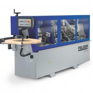 """W modelu """"G480"""" (Felder) zastosowano również frezowanie wstępne oparte na diamentowych głowicach oraz agregat zaokrąglający naroża. Fot. Felder"""