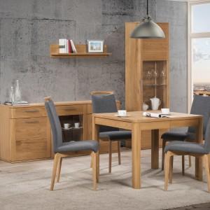 Czasem w typowo loftowym wnętrzu dobrze wyglądają klasyczne w formie meble. Fot. Salony Agata