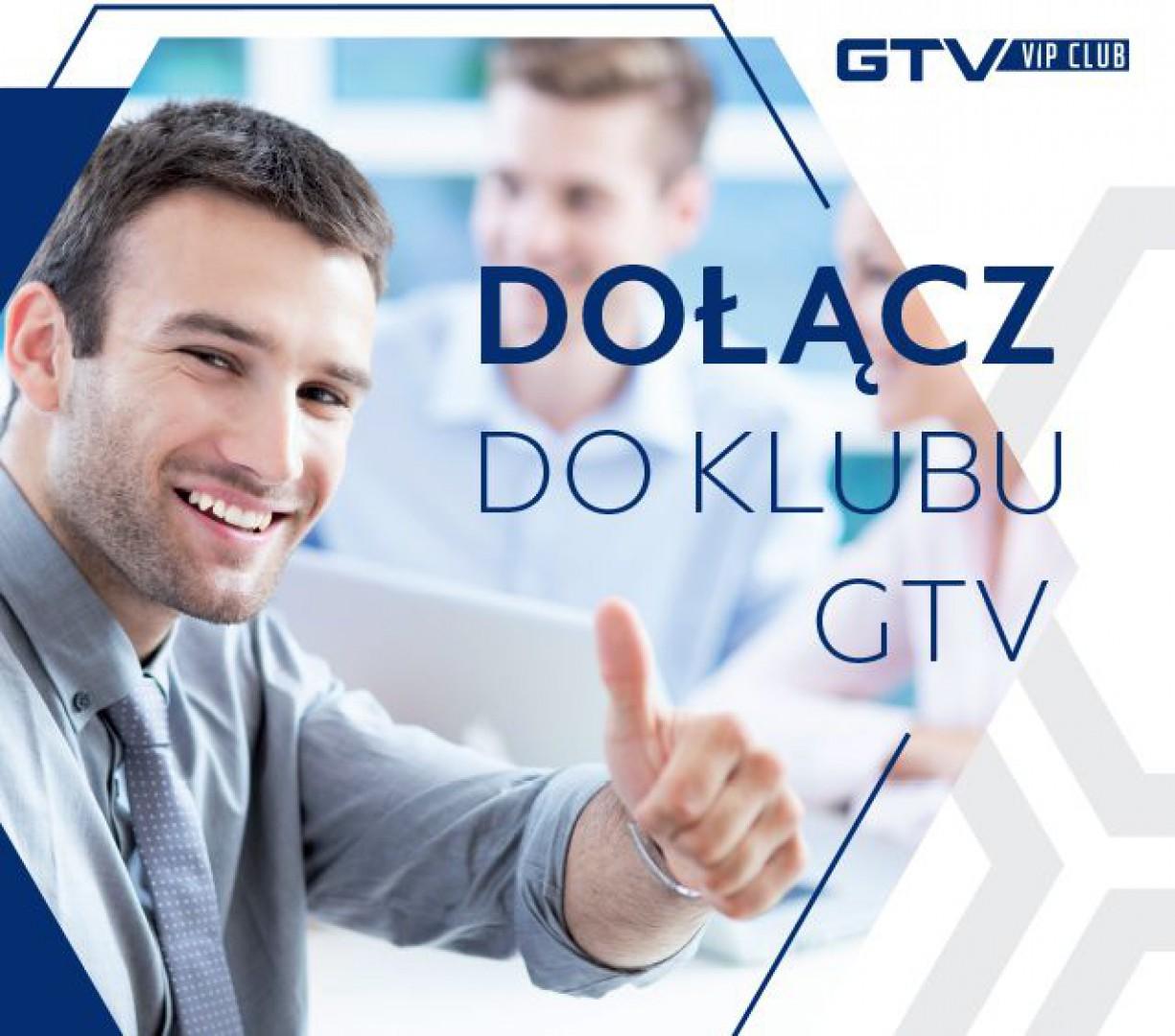 Plakat promujący GTV VIP CLUB. Fot. GTV