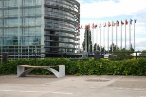 Meble miejskie projektu Pawła Grobelnego stanęły w Strasburgu