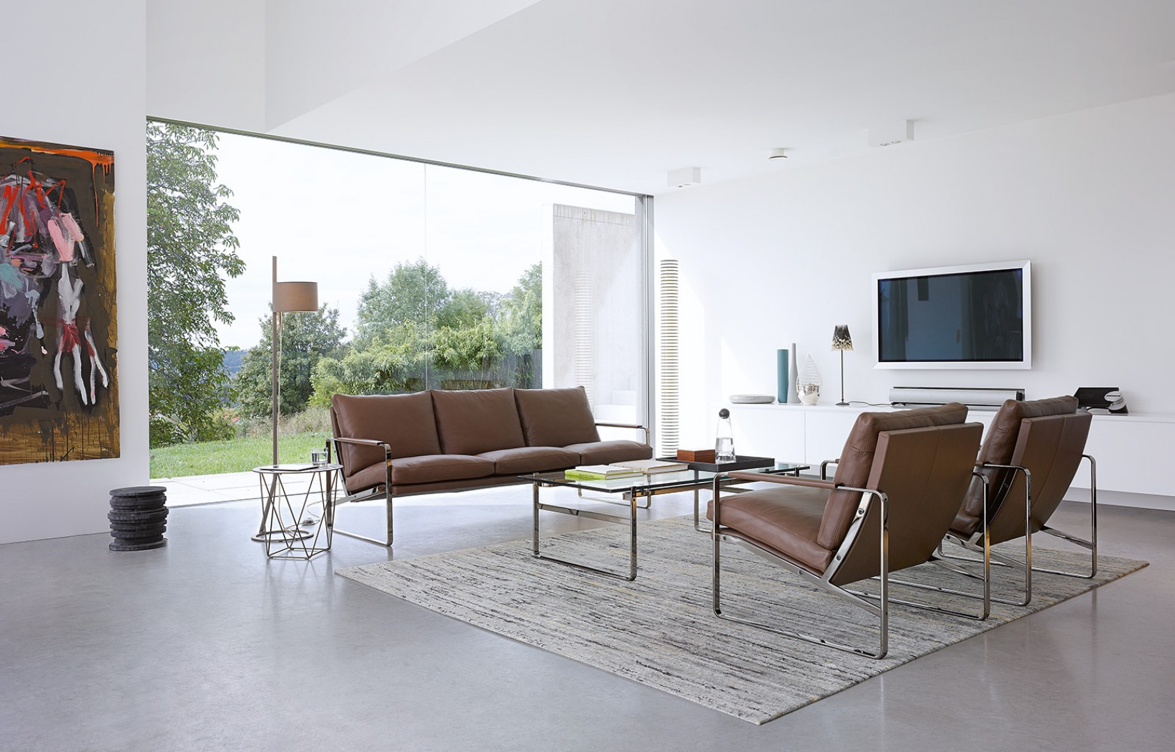 Sofa i fotele Fabricius firmy Walter Knoll. Fot. Walter Knoll