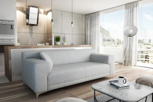 Pastelowe sofy - popularne dzięki nowoczesnym tkaninom