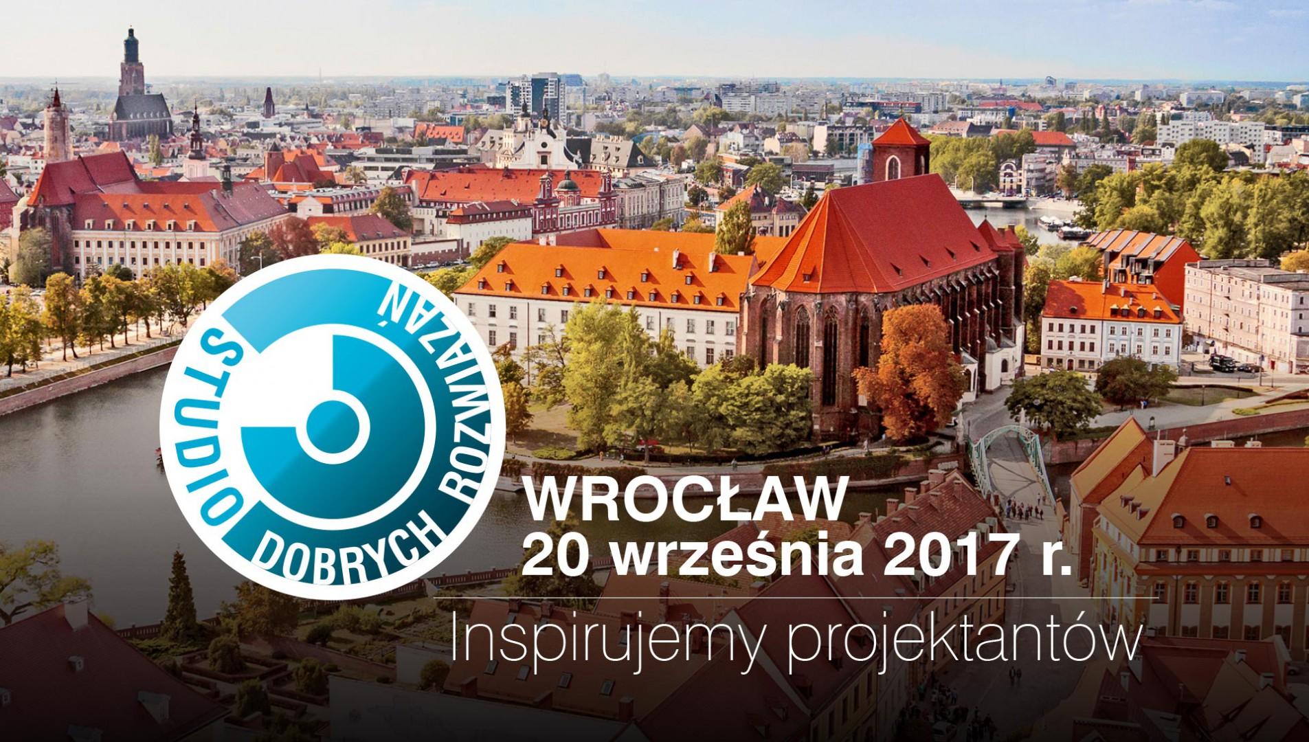 20 września Studio Dobrych Rozwiązań odbędzie się we Wrocławiu.