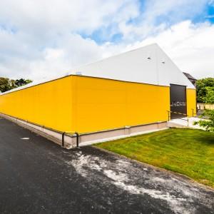 Dzięki halom namiotowym po zaledwie 5 dniach budowy przedsiębiorca zyskuje nawet 1.000 m2 nowej przestrzeni magazynowej. Fot. Protan Elmark