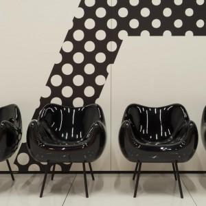 Fotel RM58 marki Vzór. Projekt: Roman Modzelewski. Fot. Euforma