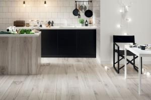 Meble kuchenne ocieplone drewnem. Zobacz piękne zdjęcia