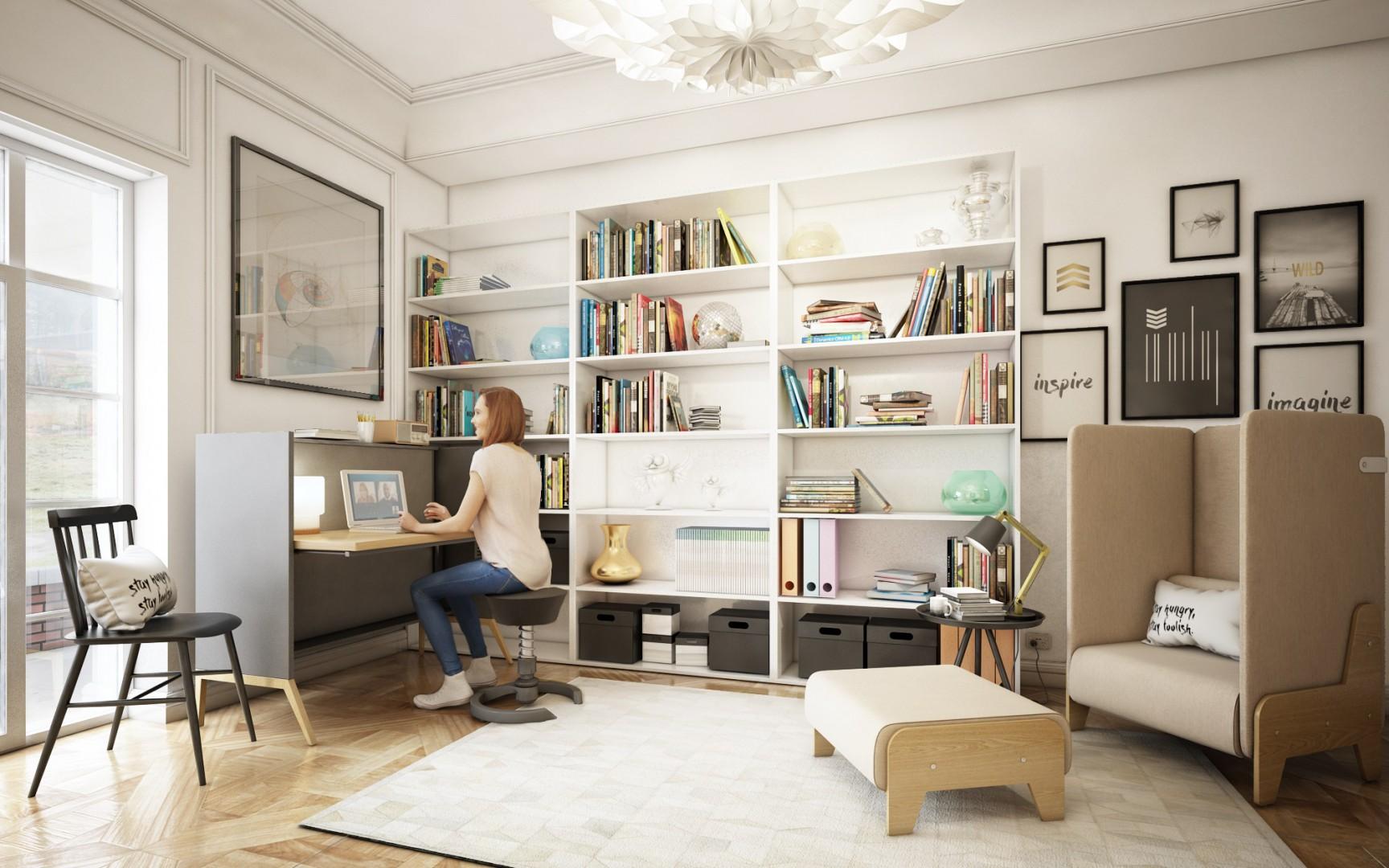 Biurko Nest firmy Mikomax Smart Office. Fot. Mikomax Smart Office
