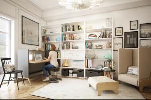 Praca w domu - wyzwanie dla producentów mebli biurowych