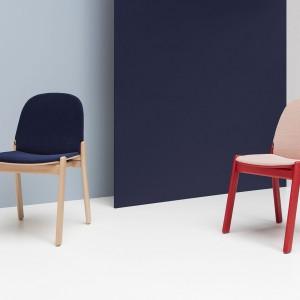 Krzesła Nordic marki Noti. Fot. Everspace
