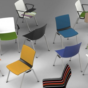 Krzesła biourowe z kolekcji