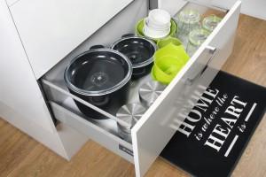 Przechowywanie w kuchni: wybierz praktyczne szuflady